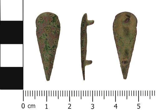 WMID-712791: Post Medieval: Strap Fitting (Belt Mount)