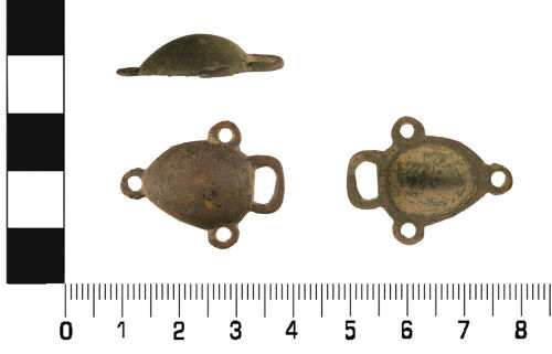 WMID-D1E553: Late Medieval to Post Medieval: Dress Hook (Read Class A, Type 2)