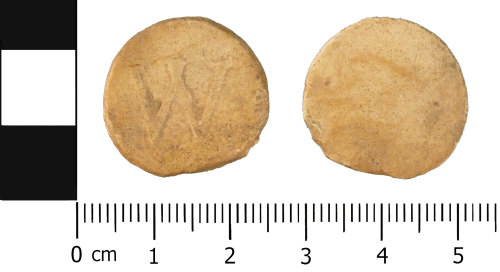 A resized image of Late Medieval to Post Medieval: Lead or lead alloy Unifaced Token