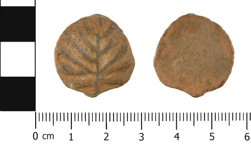 WMID-34C6AD: Late Medieval to Post Medieval: Lead or Lead Alloy Token