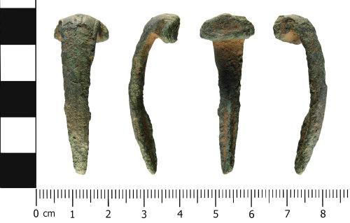WMID-6AA69C: Roman: Colchester derivative (Polden Hill) type brooch