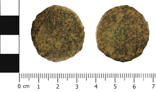 WMID-CDBC92: Roman Coin: Copper alloy dupondius or as, of uncertain emperor (1st - 3rd Century AD)