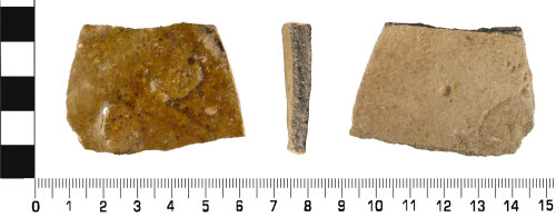 WMID-EA792D: Medieval: Ceramic Body sherd from vessel probably a jug