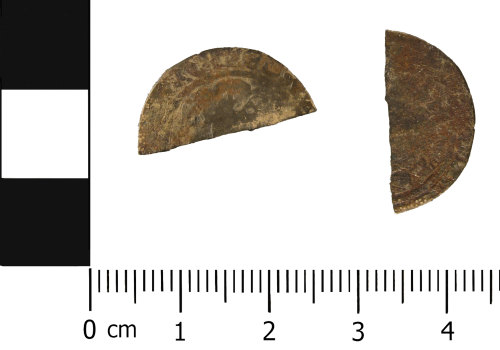WMID-EC8342: Medieval Coin: Halfgroat of Edward III