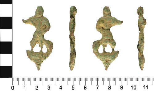 WMID-EE3569: Medieval to Post Medieval: Probable Pilgrim Badge