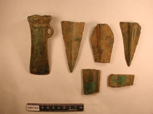 KENT-AFA495: 2009t414 copper-alloy hoard