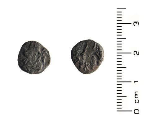 HESH-03DB34: Roman Coin: Copper alloy nummus of House of Constantine