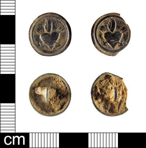 ESS-9D37C4: Post-Medieval silver cufflinks