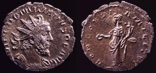 PAS-879F02: Coin of Domitian II (Domitian of Gaul)