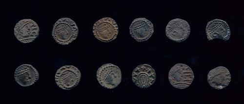 NMS-6DA535: Coins 1 - 12 obverse