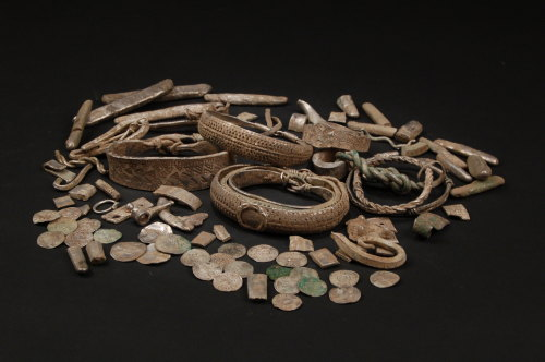LANCUM-65C1B4: Silverdale Hoard Group Shot