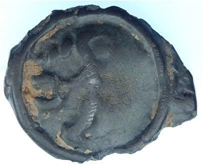 PAS-AB8846: Iron Age Coin: Gallo-Belgic Potin