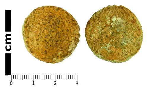 SWYOR-15E8CF: Roman Coin; illegible As