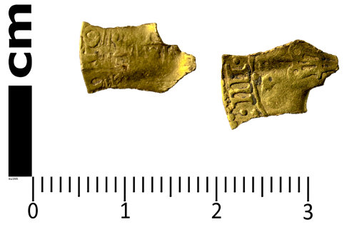 SWYOR-1FD66A: Post Medieval gold Coin; a couronne of Philip IV of Spain, as ruler of the Spanish Netherlands