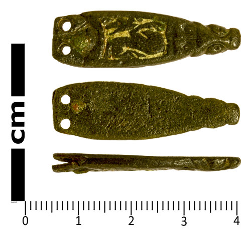 SWYOR-20B096: Early Medieval Strap End
