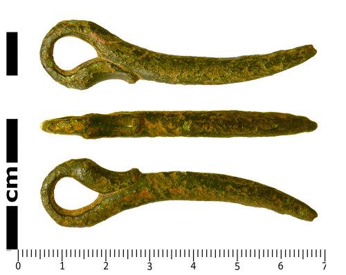SWYOR-310014: Roman Cosmetic Pestle; end looped