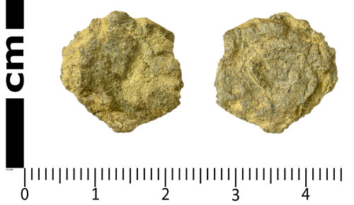 SWYOR-3DB74B: Possible Iron Age Coin; core of a plated stater