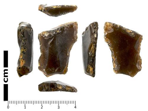SWYOR-4EB227: Neolithic Retouched Flake