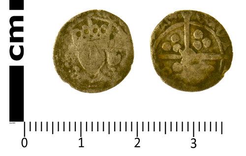 SWYOR-A95D24: Medieval Coin; penny of Edward IV, Class XIII - XV