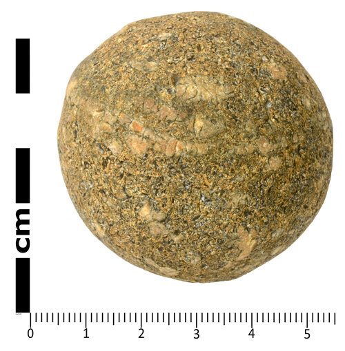 SWYOR-C952B8: Medieval to Post Medieval Cannon Ball