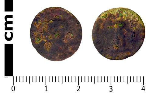 SWYOR-F64105: Roman Coin; Nummus of Gratian, GLORIA NOVI SAECVLI