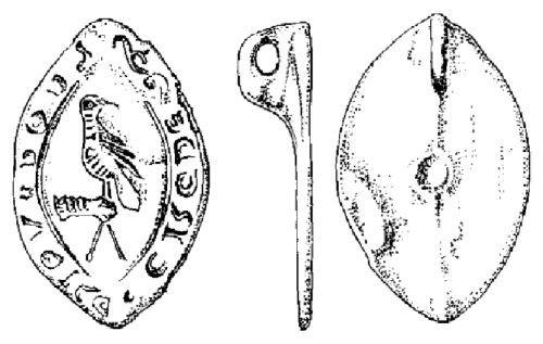 IHS-DA4931: Bird of prey on hand