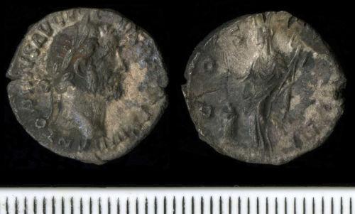 NCL-B89B06: Antoninus Pius Denarius