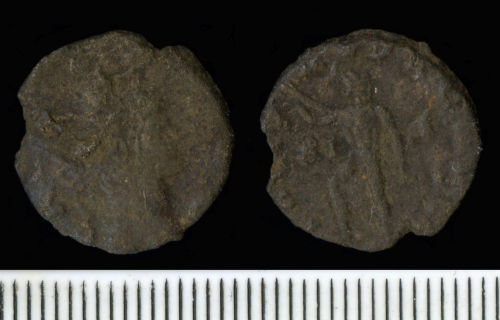 FASAM-2439B6: Roman Coin:  Radiate of Gallienus