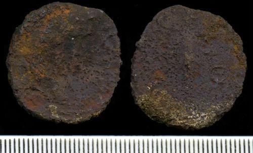 NCL-8AC8C4: Roman Coin:  As of uncertain emperor