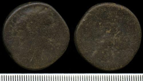 NCL-87E2A1: Roman Coin:  Sestertius of Antoninus Pius