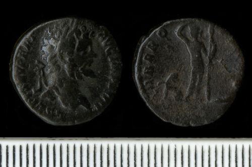 NCL-7C1717: Roman Coin:  Denarius of Septimius Severus