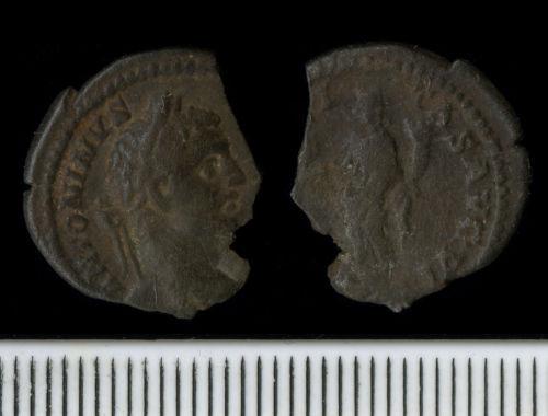 NCL-EE3195: Roman Coin:  Denarius of Caracalla