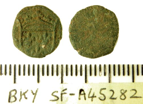 SF-A45282: English or French coin weight
