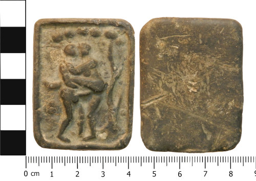 A resized image of Post medieval brothel token
