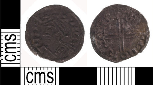 LON-9F6E43: medieval penny of Edward the Confessor dating to 1048 to 1050 AD.