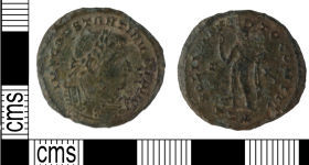 A resized image of KENT-23C934, Roman Nummus