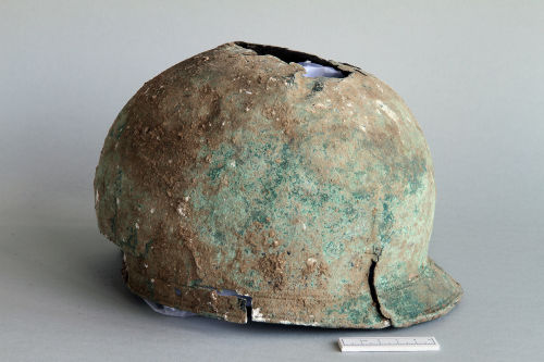 The Iron Age helmet
