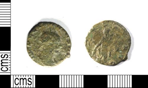LEIC-02B174: Roman copper alloy radiate of Claudius II