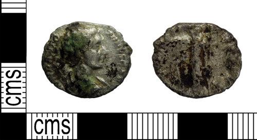 LEIC-175927: Roman silver Denarius of Elagabalus or Caracalla