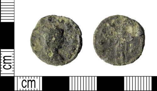LEIC-1BDA72: Roman copper alloy radiate of Gallienus
