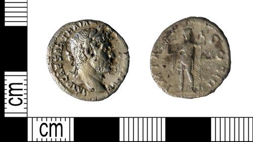 LEIC-2BCFA8: Roman silver denarius of Hadrian