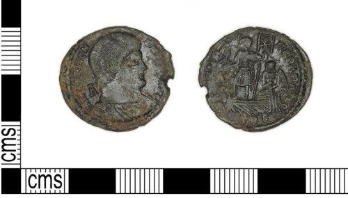 LEIC-4CF07D: Roman copper alloy nummus of Magnentius