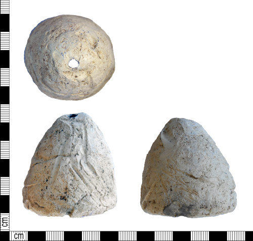 LEIC-923F5A: Medieval or later? lead alloy weight