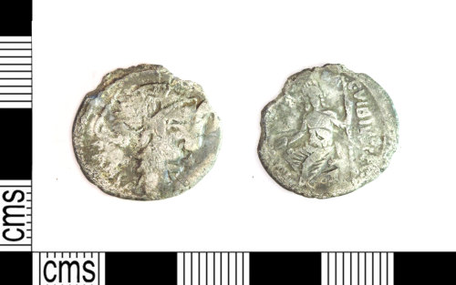 LEIC-BB53C1: Roman Republican silver denarius