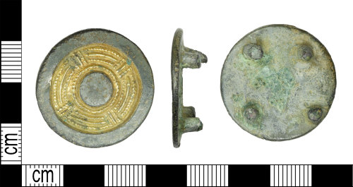 LEIC-BCC434: Early Medieval Anglo-Saxon copper alloy mount