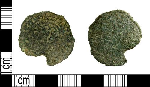 LEIC-BE1DA2: Post Medieval copper alloy jetton