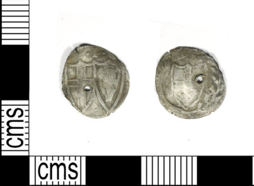 LEIC-C1E0EC: Post medieval silver penny of the Commonwealth