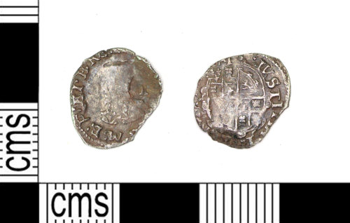 LEIC-D4596F: Post- medieval silver penny of Charles I