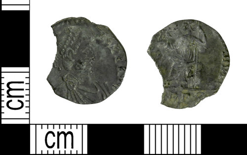LEIC-F0BCF4: Roman silver Siliqua of Honorius