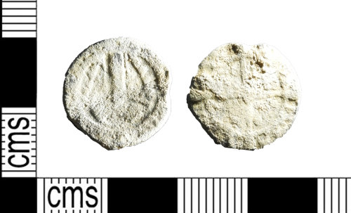 LEIC-F2C60C: Medieval to post medieval lead boy bishop token